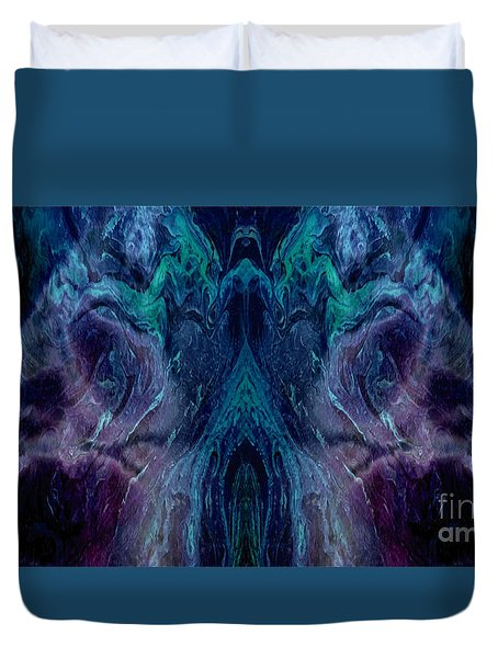 Geminate Duvet Cover by Tlynn Brentnall