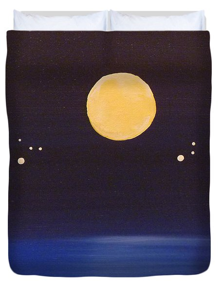 Gemini And Leo Duvet Cover by Alys Caviness-Gober