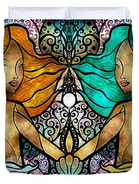Gemini Duvet Cover