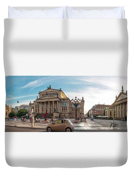Gendarmenmarkt Platz / Berlin Duvet Cover