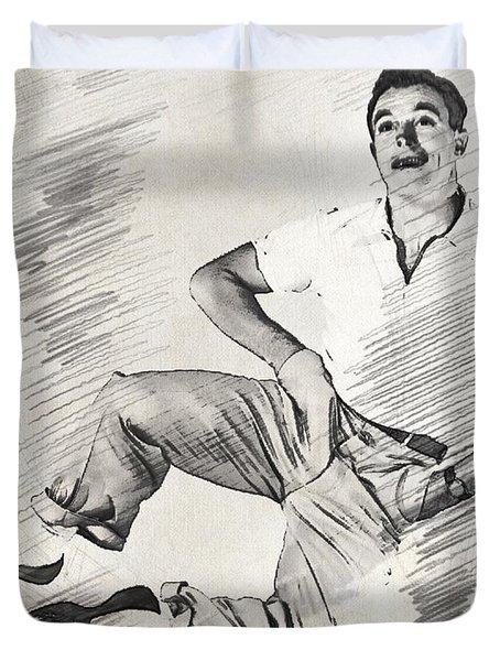 Gene Kelly, Legend Duvet Cover
