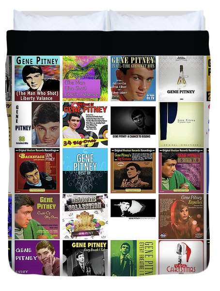 Gene Pitney 1 Duvet Cover