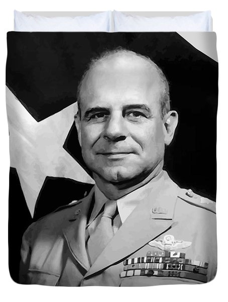 General Doolittle Duvet Cover by War Is Hell Store