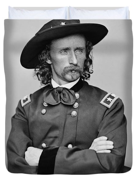 General George Armstrong Custer Duvet Cover
