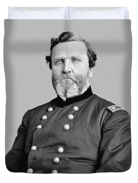 General George Thomas Duvet Cover by War Is Hell Store