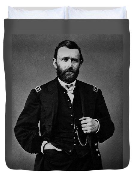 General Grant During The Civil War Duvet Cover