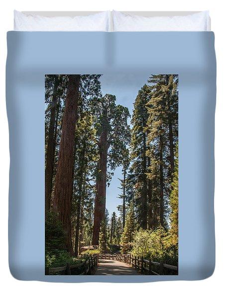General Grant Tree Kings Canyon National Park Duvet Cover