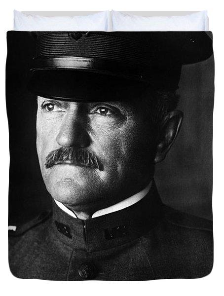 General John Pershing Portrait Duvet Cover