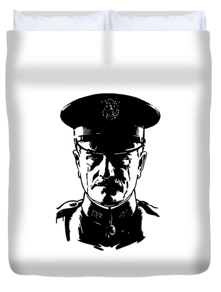 General John Pershing Duvet Cover by War Is Hell Store