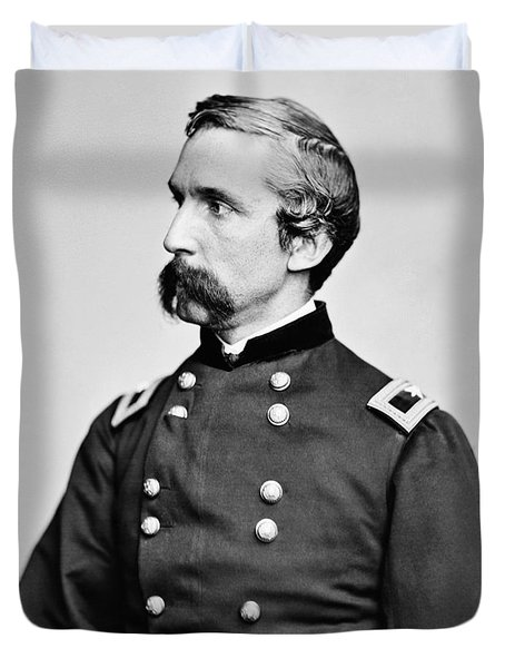 General Joshua Chamberlain  Duvet Cover by War Is Hell Store