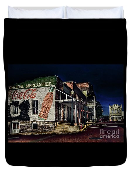 General Mercantile Duvet Cover