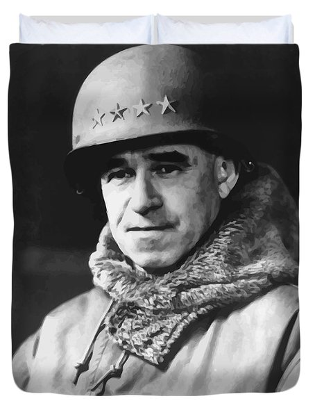 General Omar Bradley Duvet Cover by War Is Hell Store