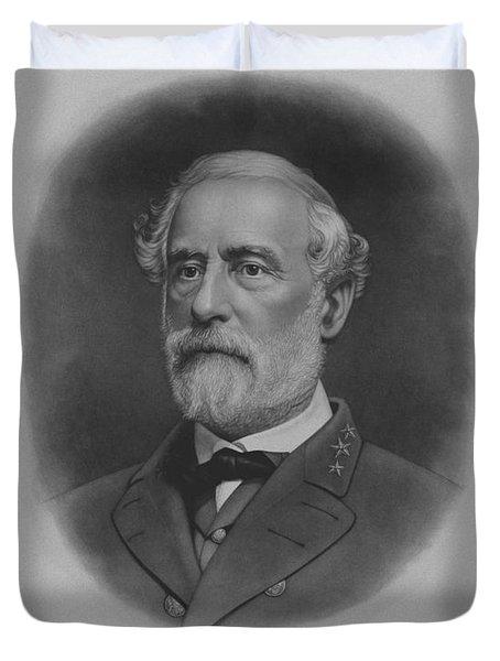 General Robert E. Lee Print Duvet Cover