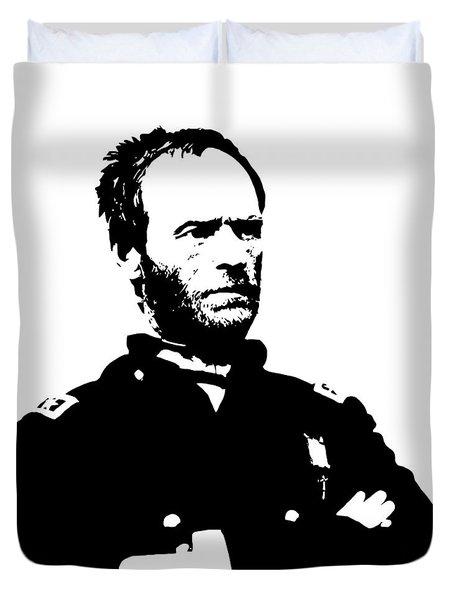 General Sherman Duvet Cover