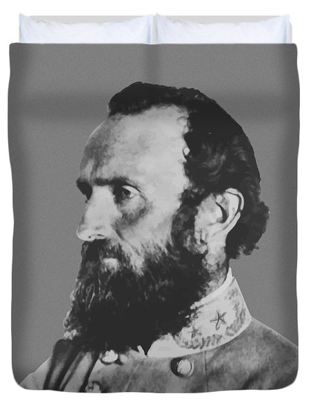General Stonewall Jackson Duvet Cover