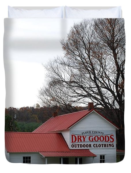 General Store Duvet Cover by Eric Liller