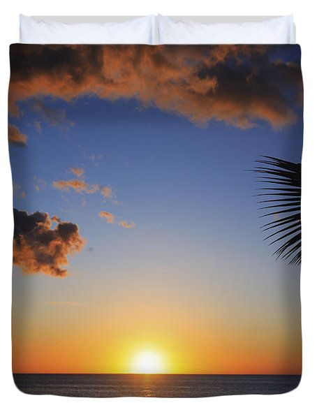 Generic Sunset Duvet Cover by Brandon Tabiolo - Printscapes