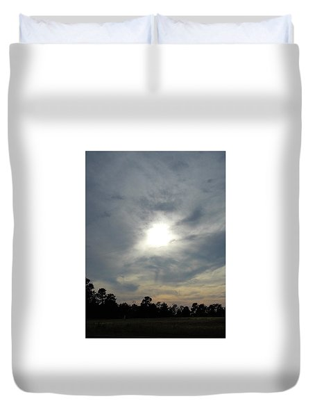 Genesis On The Seventh Day Duvet Cover