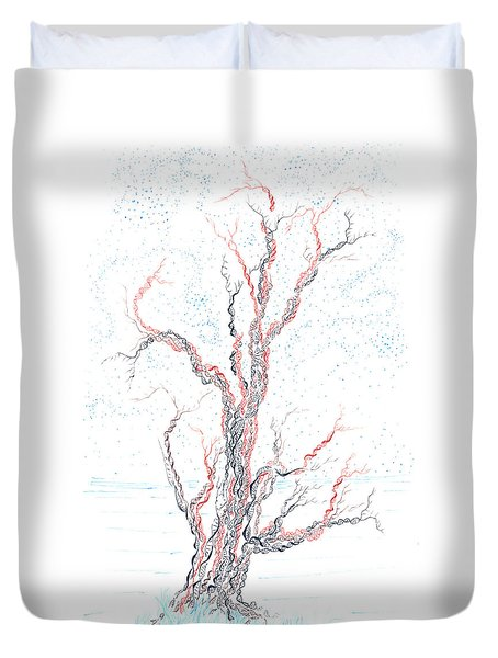 Genetic Branches Duvet Cover