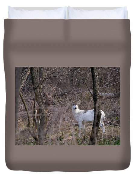 Genetic Mutant Deer Duvet Cover