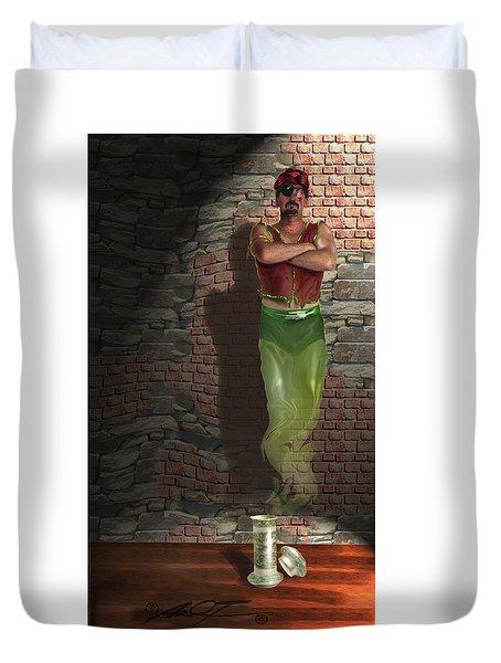 Genie In A Bottle Duvet Cover