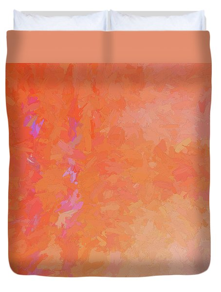 Gentle Flame Duvet Cover