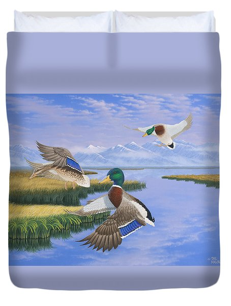 Gentle Landing Duvet Cover