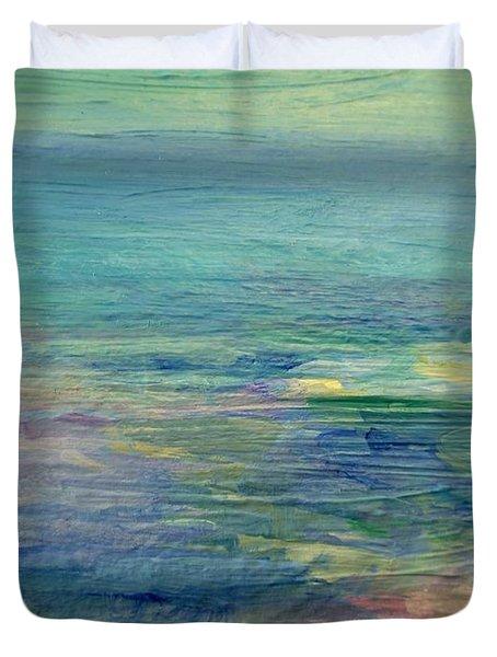 Gentle Light On The Water Duvet Cover