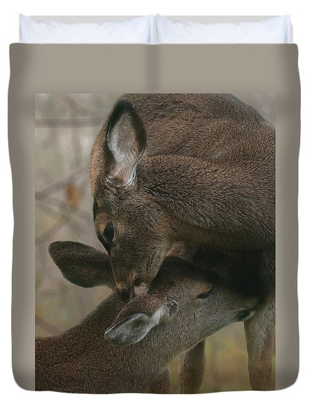 Gentle Moments Duvet Cover