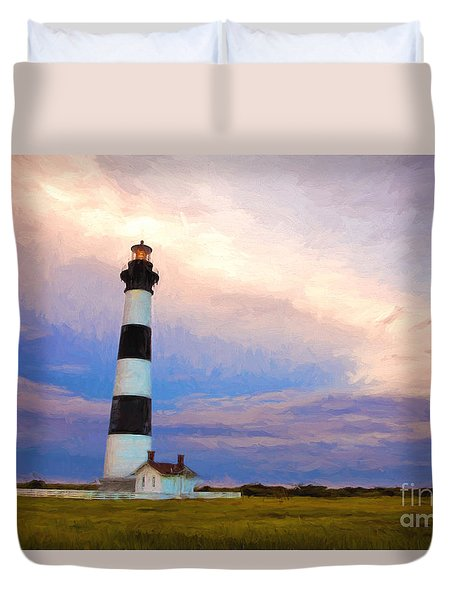 Gentle Pastel Morning Duvet Cover by Dan Carmichael