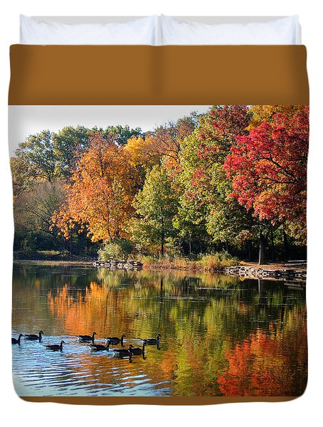 Gentle Reflections Duvet Cover