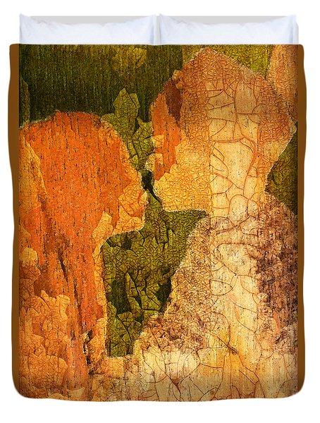 Gentle Sweet Kiss Duvet Cover