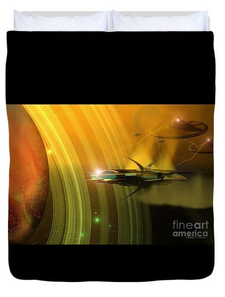 Genx 12 Duvet Cover by Corey Ford