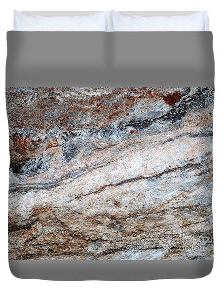 Geoism Duvet Cover