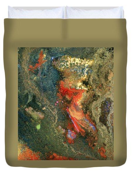 Geology-volcanic Duvet Cover