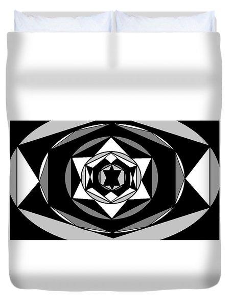 'geometric 1' Duvet Cover