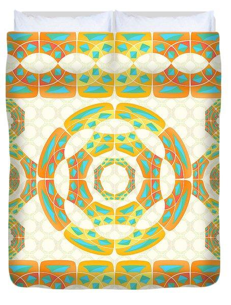 Geometric Composition Duvet Cover