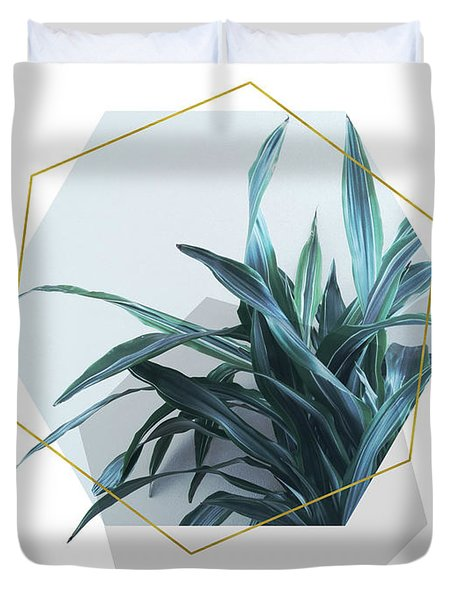Geometric Jungle Duvet Cover