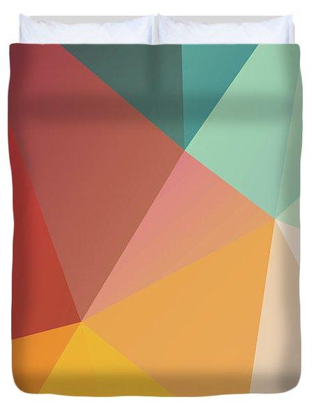 Geometric Xxix Duvet Cover