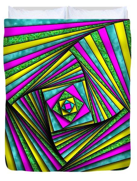 Geometry Art Duvet Cover