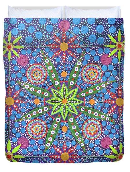 Geometry Of An Arkana Duvet Cover