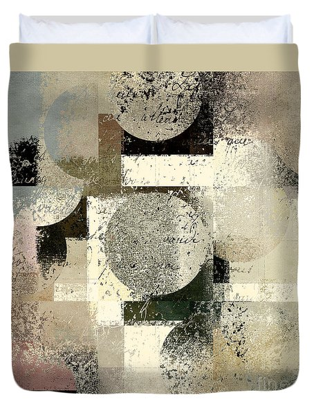 Geomix - C133et02b Duvet Cover by Variance Collections