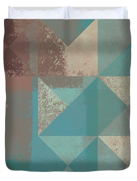 Geomix 03 - S123bc04t2a Duvet Cover by Variance Collections