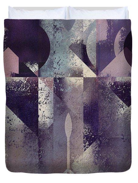 Geomix-04 - C57at22b2e Duvet Cover