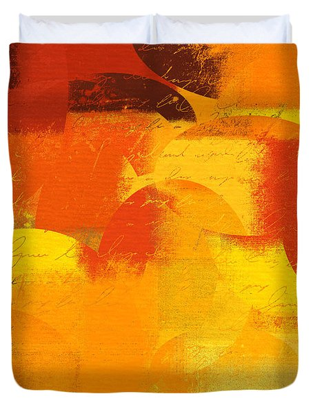 Geomix 05 - 01at01 Duvet Cover by Variance Collections