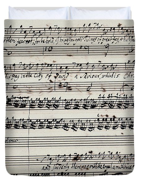 George Frederick Handel Duvet Cover by Granger