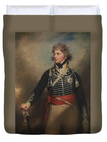 George Iv, When Prince Of Wales Duvet Cover