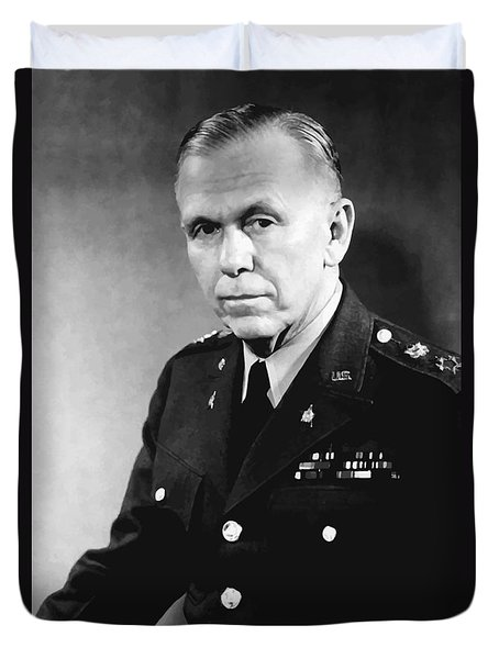 George Marshall Duvet Cover by War Is Hell Store