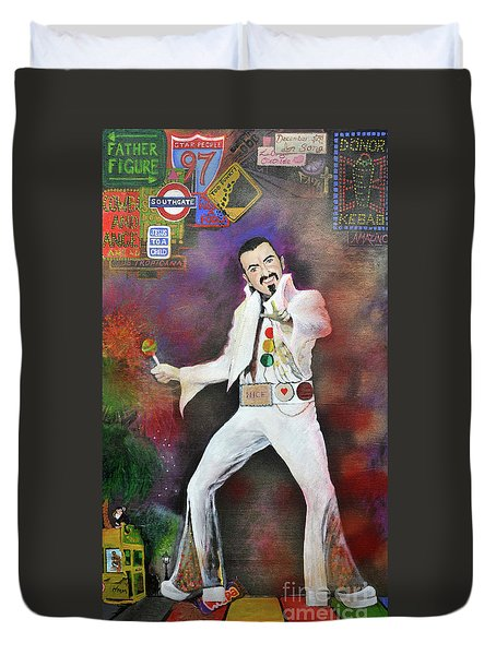 George Michael Gentlemen And Ladies Duvet Cover