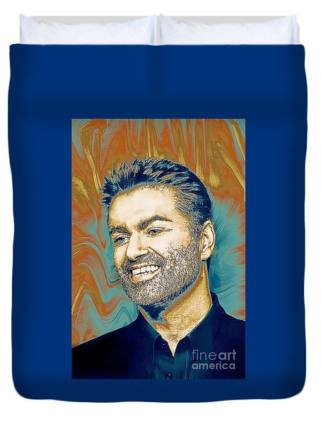 George Michael - Tribute  Duvet Cover